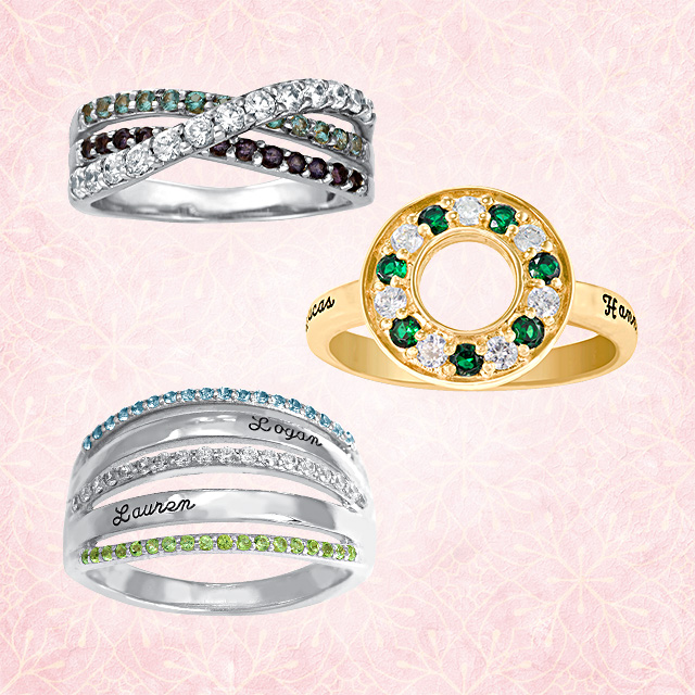 Mothers Day Gift Guide Mothers Rings