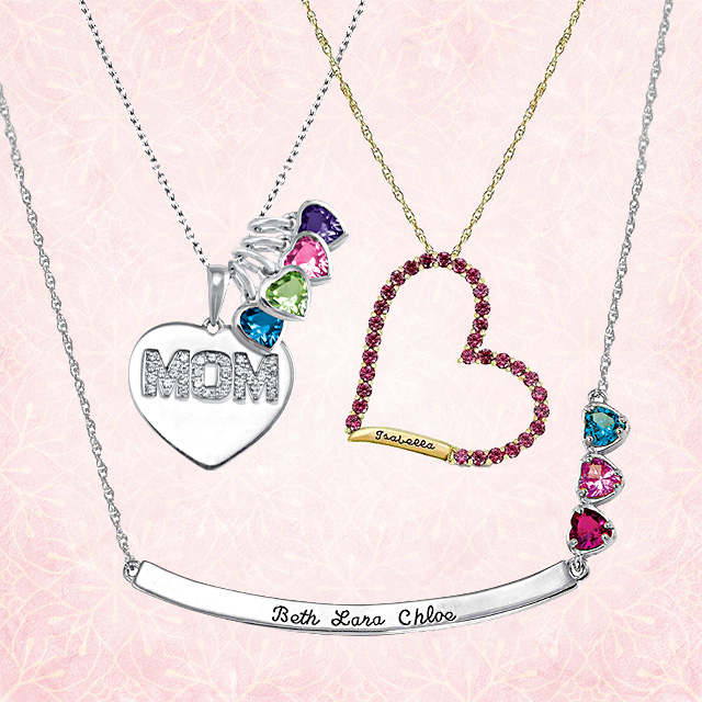 Mothers Day Gift Guide Personalized Necklaces