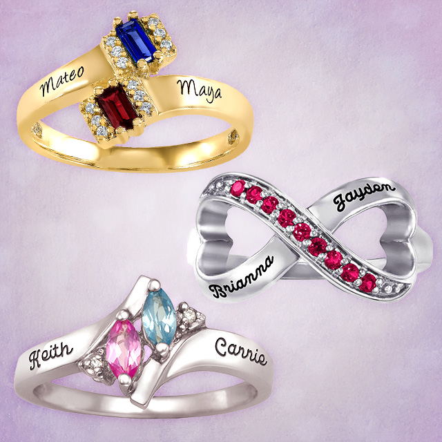 VDay Couples Rings AC