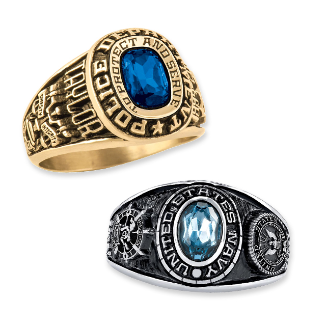 Womens Military Rings
